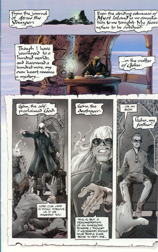 Myst Comic Issue 0 Page 3